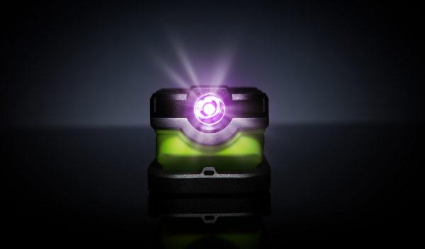 Detailing Light with UV Spot Beam