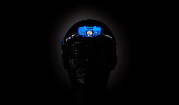Sport Head torch in blue
