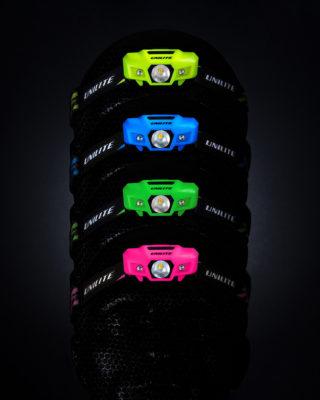 Unilite Colourful Sport Head Torches