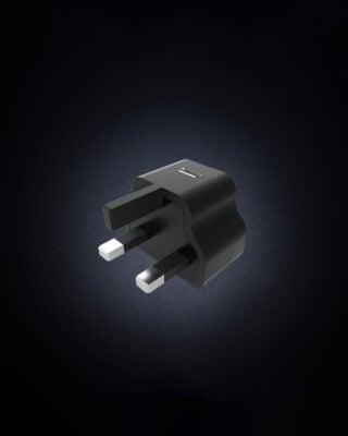 UK USB Plug